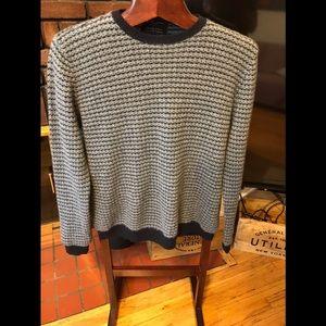Beautiful cashmereBlack &Brown sweater size LL